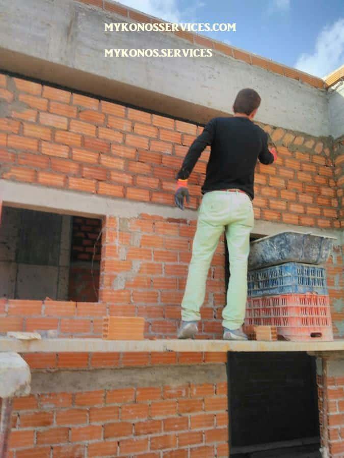 Οικοδομικές Εργασίες Μύκονος services 19 95