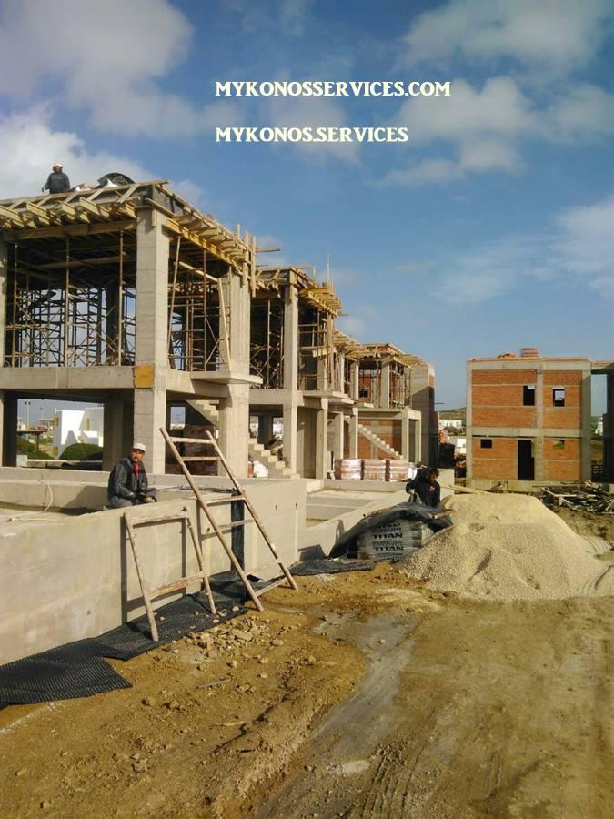 Οικοδομικές Εργασίες Μύκονος services 1