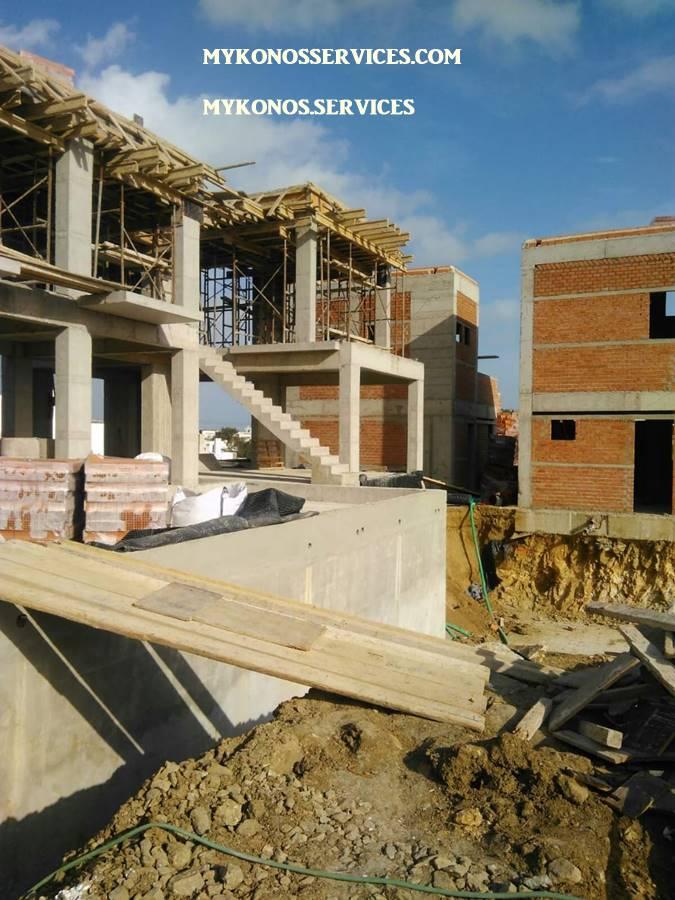 Οικοδομικές Εργασίες Μύκονος Κατασκευαστικές 10 πισινες 111 9