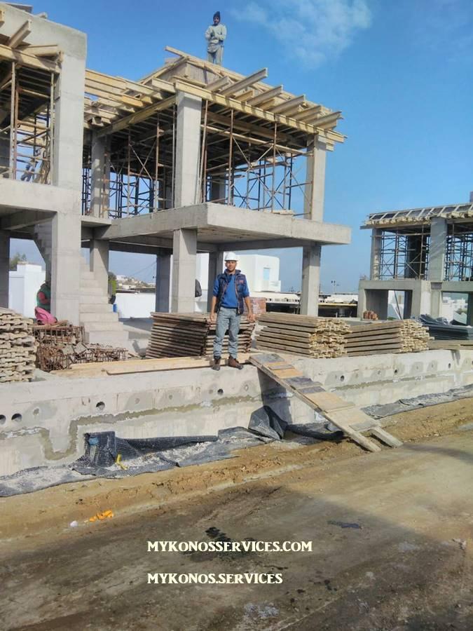Οικοδομικές Εργασίες Μύκονος Κατασκευαστικές 10 πισινες 111
