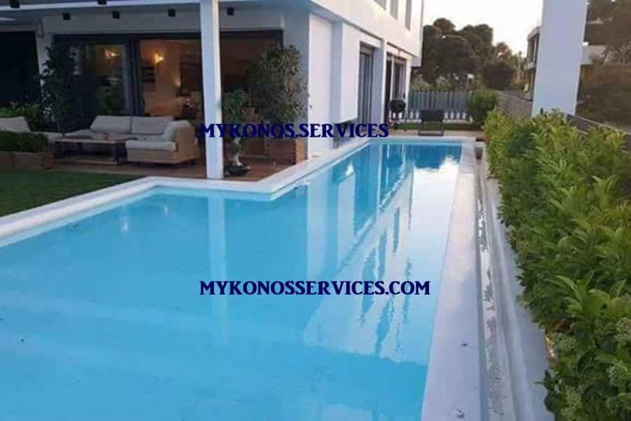 pools mykonos - oikodomikes ergasies mykonos 1 - pisines mykonos