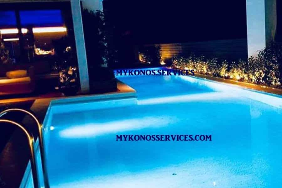 pools mykonos services