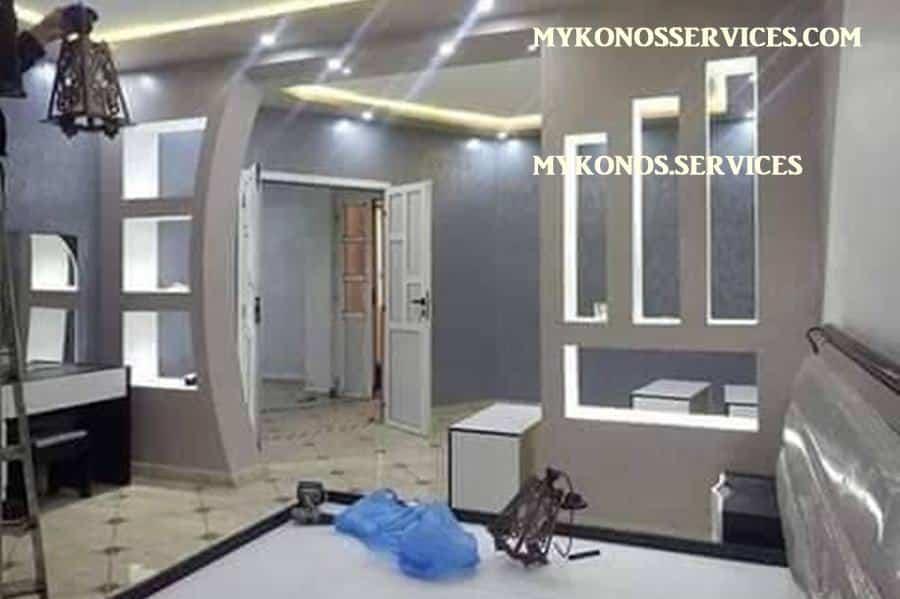 mykonos services - ελαιοχρωματισμοί Μύκονος - decorative services Mykonos 6