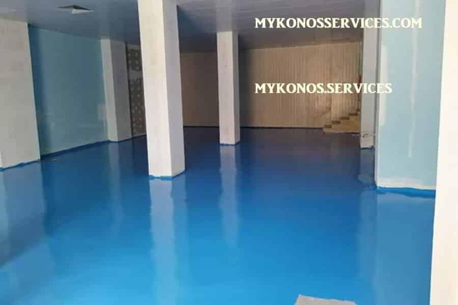 mykonos services - ελαιοχρωματισμοί Μύκονος - decorative services Mykonos 5