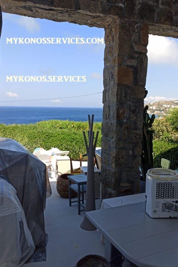 mykonos services ελαιοχρωματισμοί Μύκονος - painting services Mykonos 2