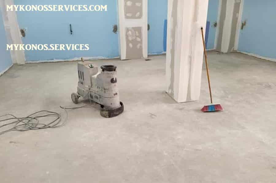 mykonos services - ελαιοχρωματισμοί Μύκονος - decorative services Mykonos 3