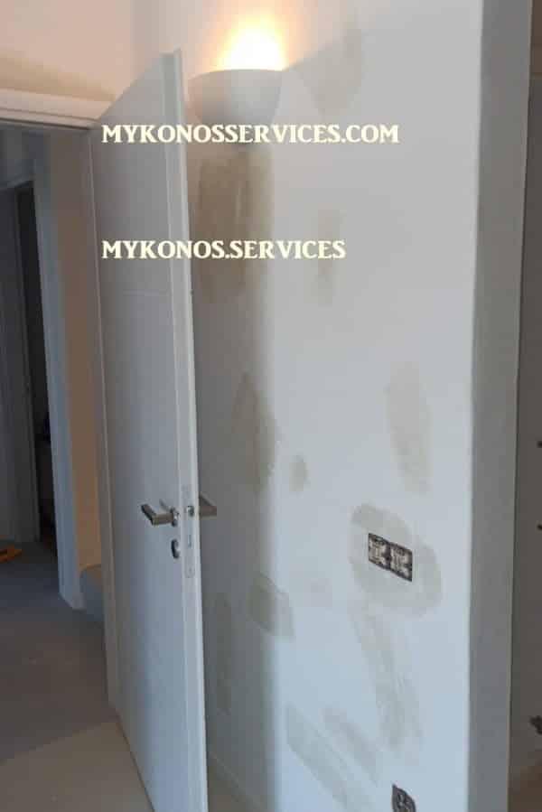 mykonos services ελαιοχρωματισμοί Μύκονος - painting services Mykonos 4