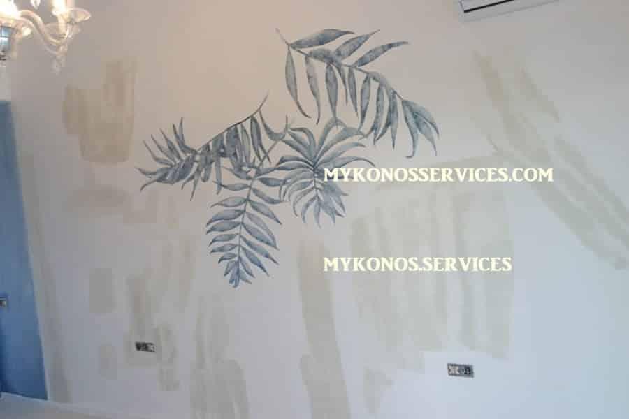 mykonos services ελαιοχρωματισμοί Μύκονος - painting services Mykonos 5