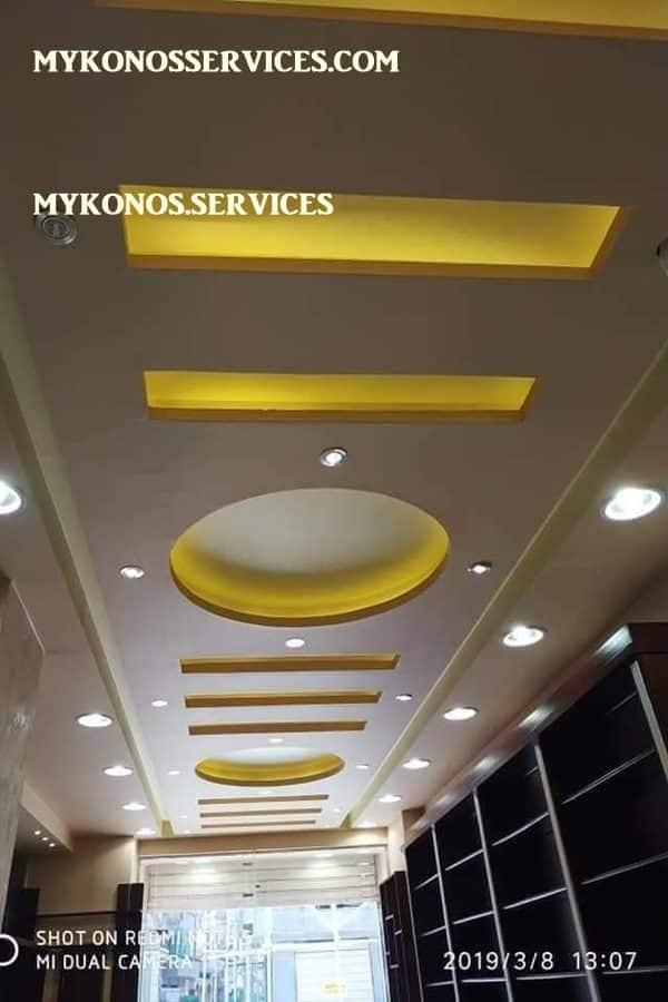 mykonos services - ελαιοχρωματισμοί Μύκονος - decorative services Mykonos 1