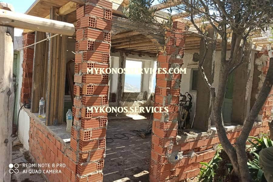 mykonos services - οικοδομικές εργασίες μύκονος - building works Mykonos 6