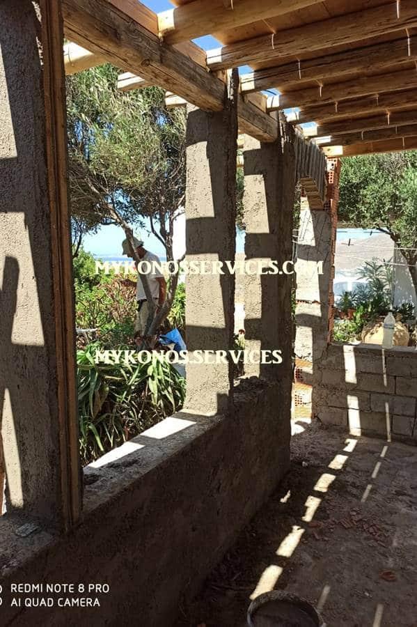 mykonos services - οικοδομικές εργασίες μύκονος - building works Mykonos 5