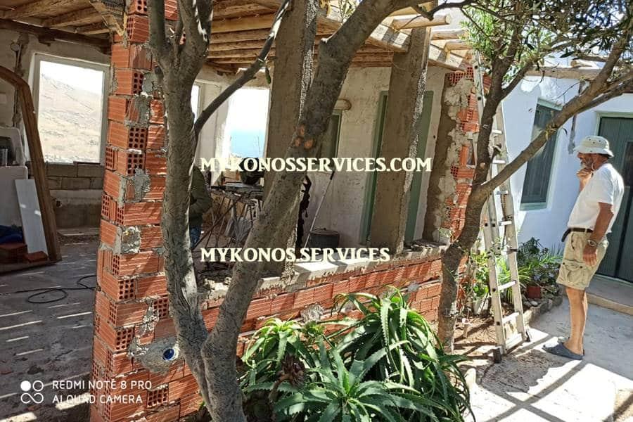 mykonos services - οικοδομικές εργασίες μύκονος - building works Mykonos 4