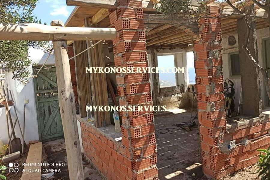 mykonos services - οικοδομικές εργασίες μύκονος - building works Mykonos 3