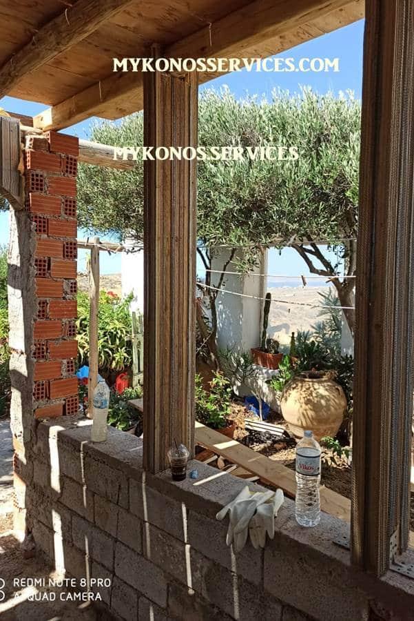 mykonos services - οικοδομικές εργασίες μύκονος - building works Mykonos 2