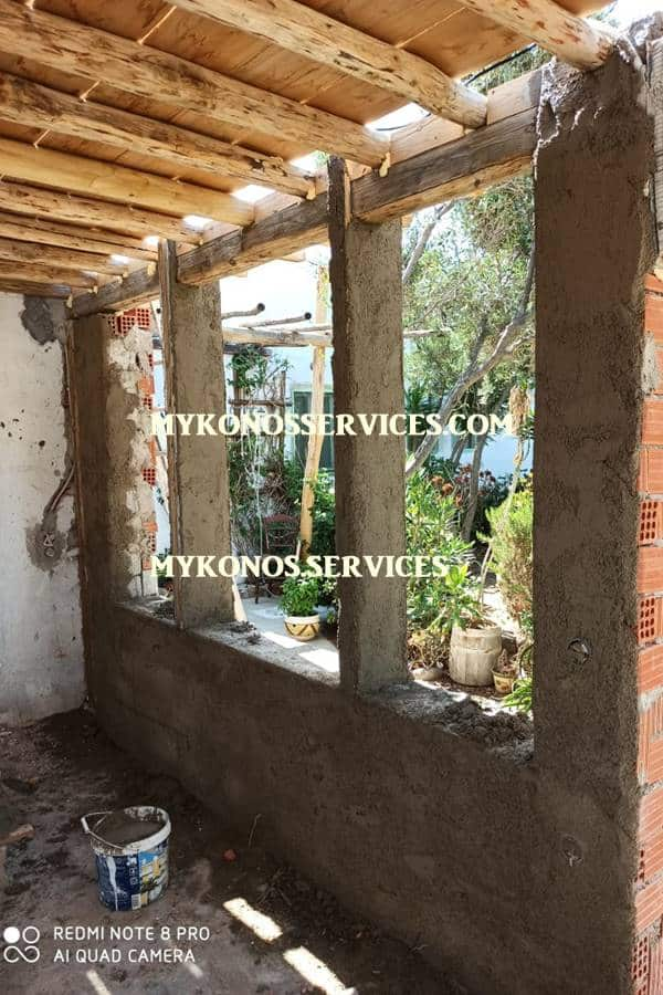 mykonos services - οικοδομικές εργασίες μύκονος - building works Mykonos 1