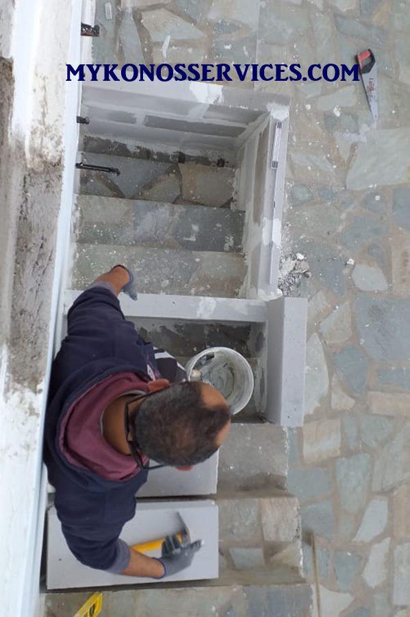 Μονώσεις Μύκονος - Οικοδομικές εργασίες Μύκονος 4
