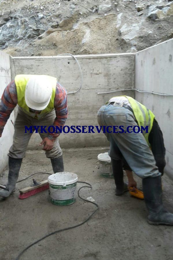 Μονώσεις Μύκονος - Οικοδομικές εργασίες Μύκονος 3