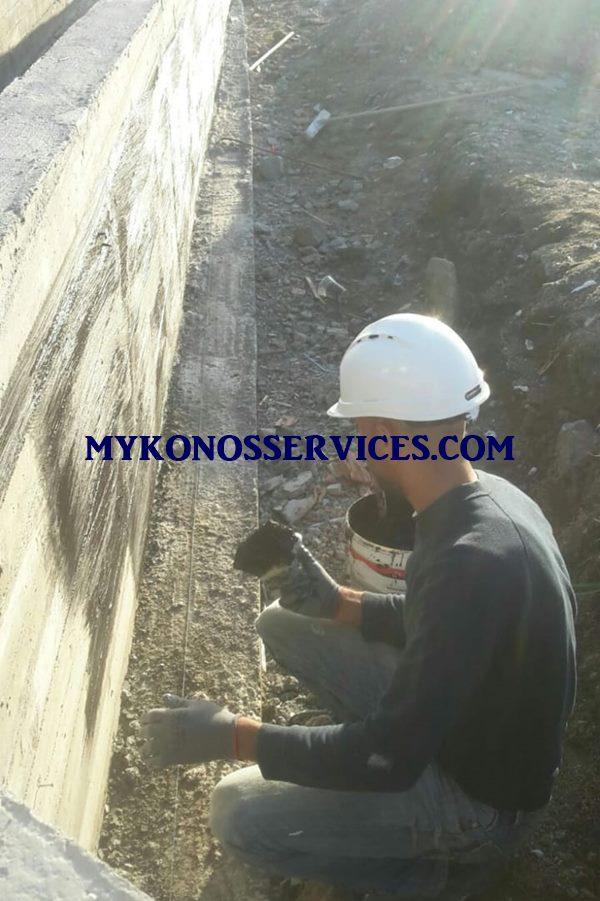 Μονώσεις Μύκονος - Οικοδομικές εργασίες Μύκονος 1
