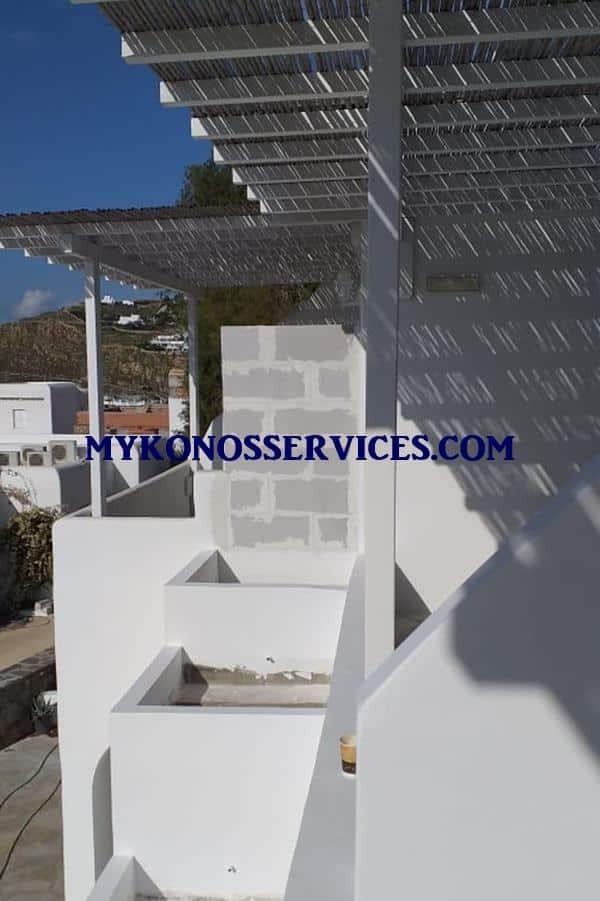 Μονώσεις Μύκονος 1 Insulations Mykonos 1