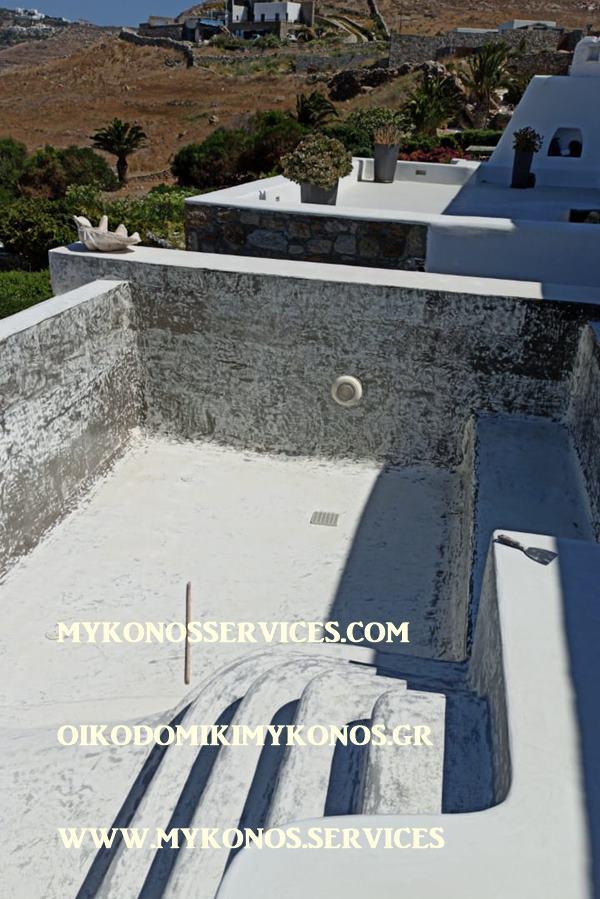 pools mykonos - πισίνες Μύκονος - mykonosservices.com 2