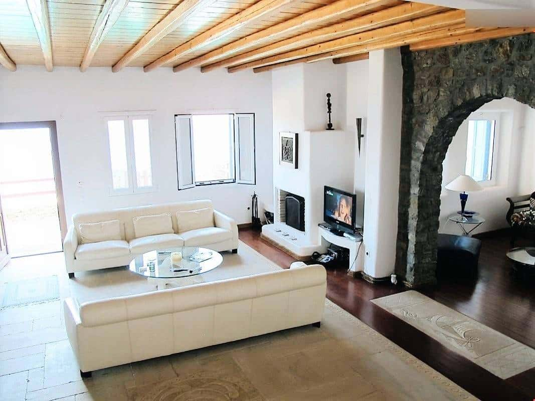 luxurious villa Mykonos - πολυτελής βίλα Μύκονος - mykonos services - οικοδομικές εργασίες 11