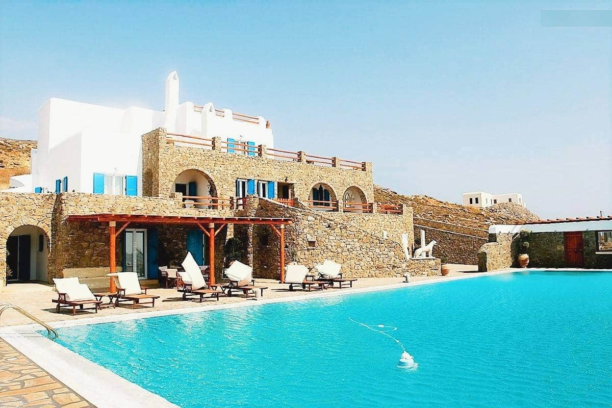 luxurious villa Mykonos - πολυτελής βίλα Μύκονος - mykonos services - οικοδομικές εργασίες 14
