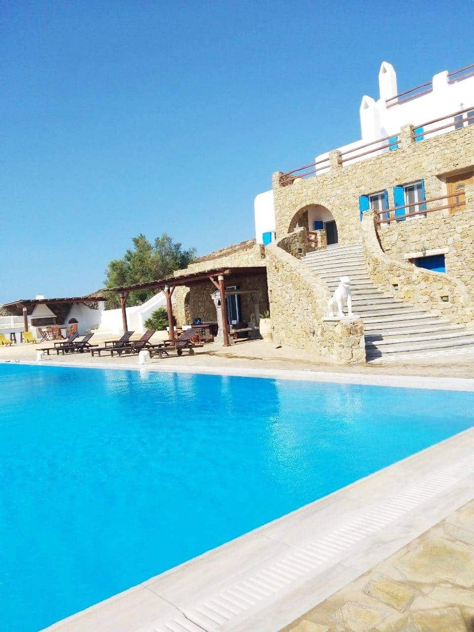 luxurious villa Mykonos - πολυτελής βίλα Μύκονος - mykonos services - οικοδομικές εργασίες 16