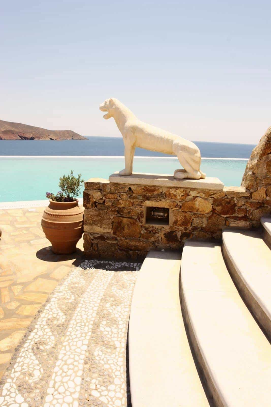 luxurious villa Mykonos - πολυτελής βίλα Μύκονος - mykonos services - οικοδομικές εργασίες 18