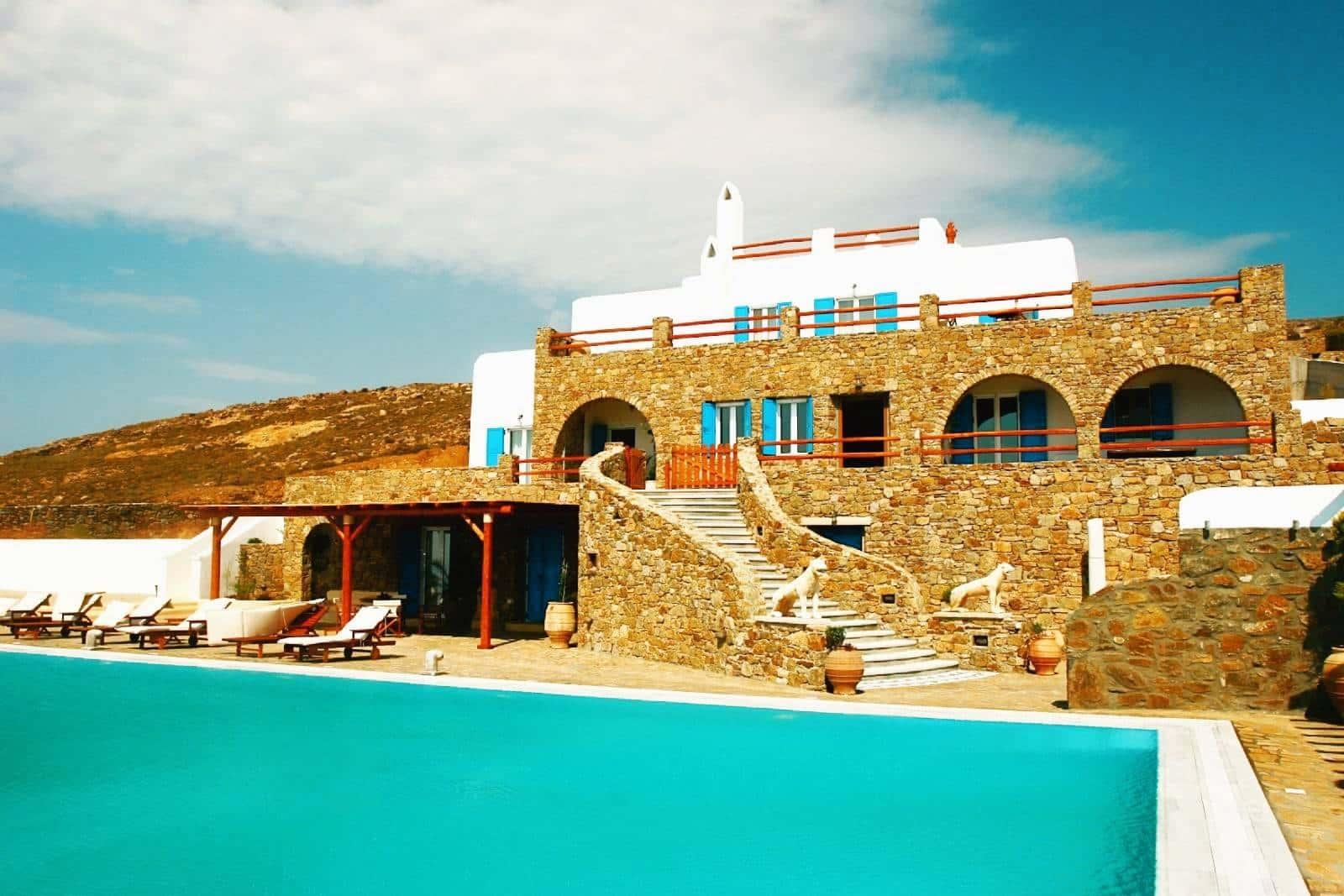 luxurious villa Mykonos - πολυτελής βίλα Μύκονος - mykonos services - οικοδομικές εργασίες 25