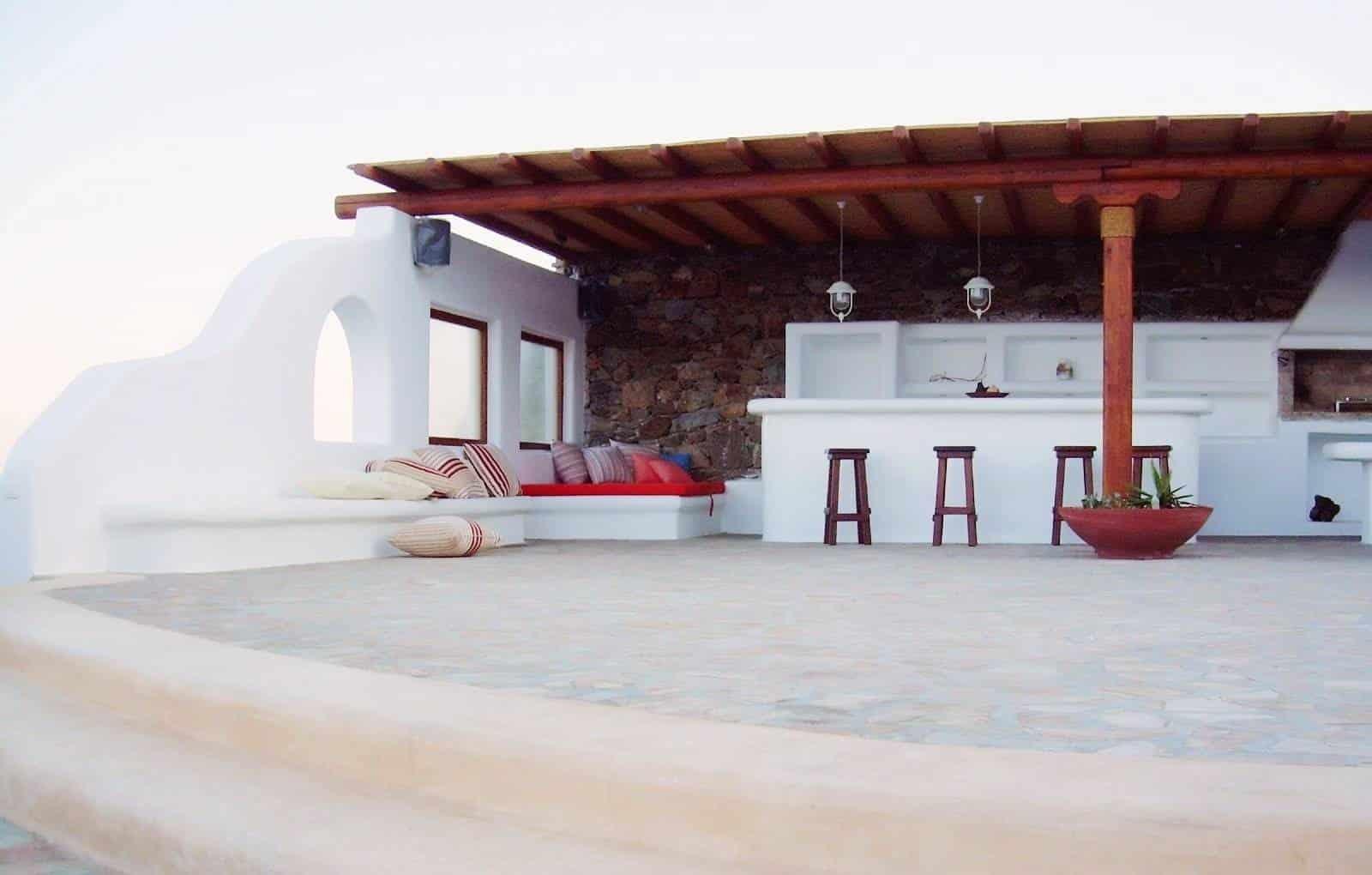 luxurious villa Mykonos - πολυτελής βίλα Μύκονος - mykonos services - οικοδομικές εργασίες 3