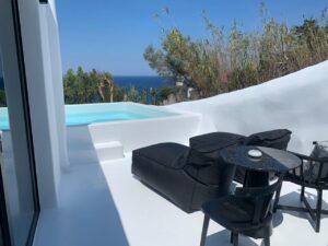 mykonos private pool villas rent - tagoo black 3