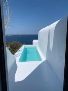 mykonos private pool villas rent - tagoo black 5252